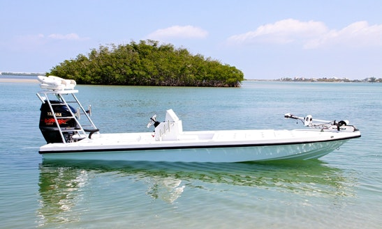 21' Suncoast Inshore Fishing Charter In Captiva Island