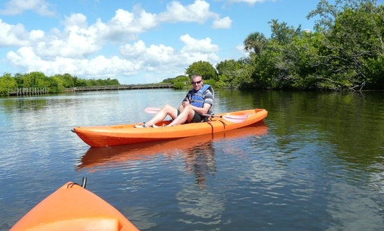 Single Ocean Kayak Rental & Tours In Merritt Island