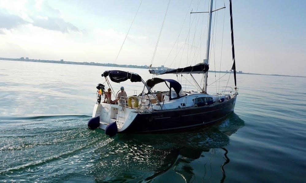 Beneteau Oceanis 40 Cruising Monohull Rental in Limanu