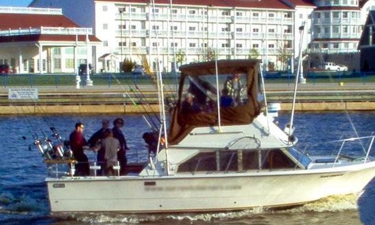 28' Sport Fishing Charter In Sheboygan