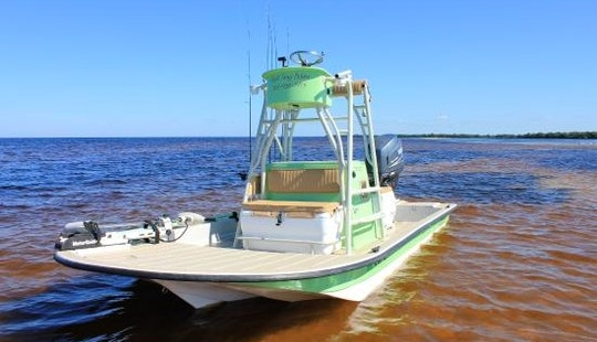 Fishing Charter On 18' Shallow Sport Center Console In Cape Coral, Florida