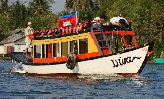 Passenger Boat  In Phnom Penh