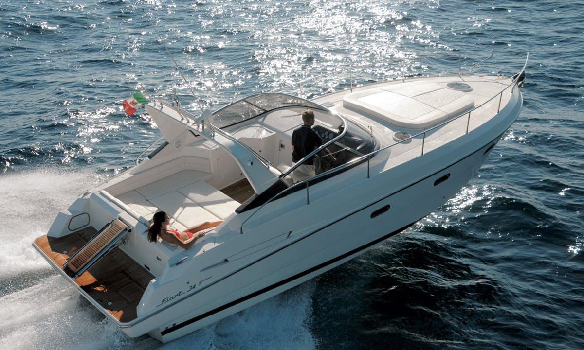 Fiart 34 Genius Motor Yacht Charter in Ibiza