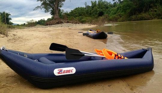 Inflatable Kayak Trip In Nha Trang, Vietnam