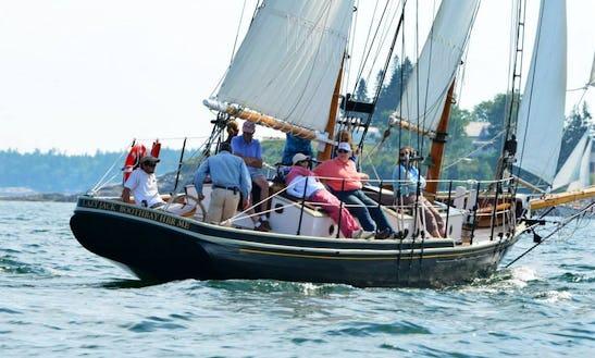 48' Schooner Charter In Boothbay Harbor, Maine