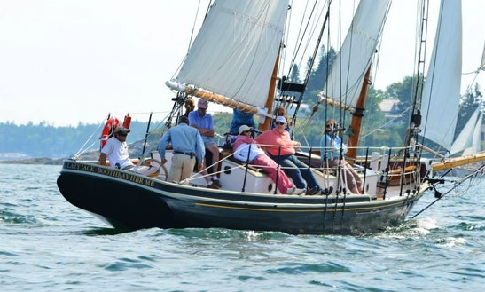 48' Schooner Charter In Boothbay Harbor, Maine