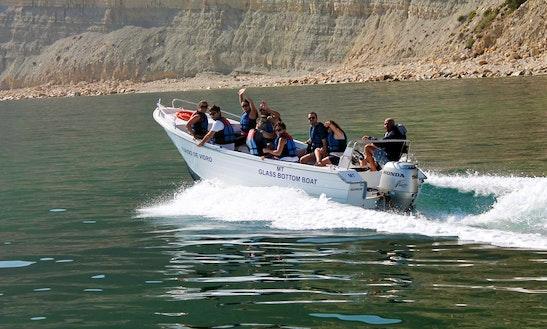 Glass Bottom Boat Trips In Ponta Da Piedade Grottoes