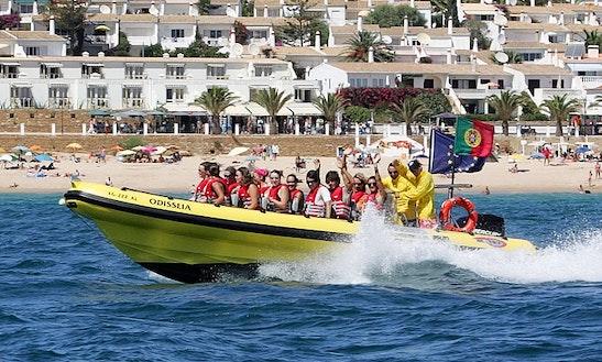 Boat Sagres Coastal Tours In Luz Faro
