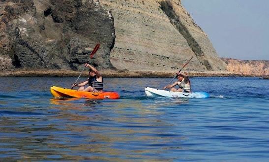 Single Ocean Kayak Rental In Luz Faro