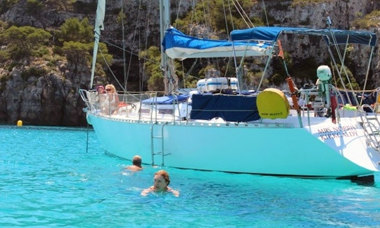 Sail Boat Charter In Menorca, Spain