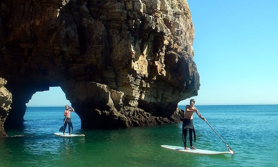 Stand Up Paddle Tour On Algarve Coast