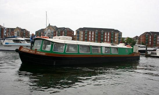 'copper Jack' Boat Cruises In Swansea