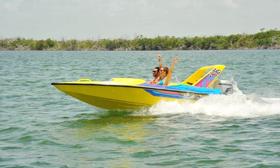 Jungle Jet Boat Tours In Cancún