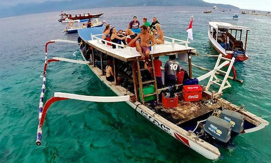 Passenger Dive Boat - 20 People In Pemenang