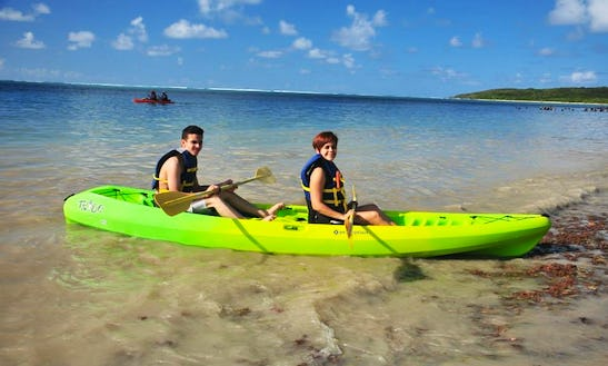 Two Person Kayak Rental In Fajardo, Puerto Rico