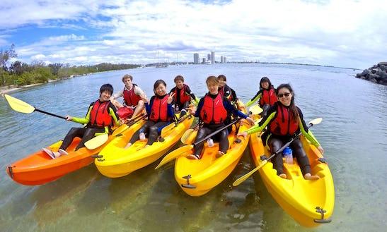 Quick Escape Kayak Tour To Wave Break Island