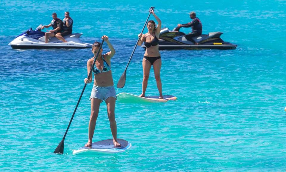 Stand Up Paddleboarding Lesson In Santa Maria