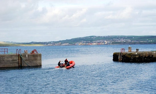 Dive Boat In Ireland