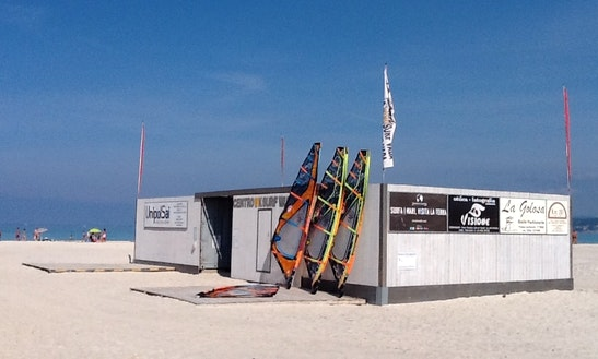 Windsurf Lesson In Rosignano Marittimo