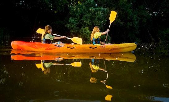 Tandem Kayak Rental In Colomers, Spain