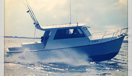 31' Fishing Charter In Port Canaveral