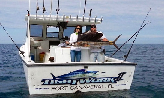 31' Sport Fisherman Charter In Cape Canaveral, Florida