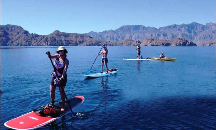 SUP And Sea Kayaking Adventure In Loreto, Mexico