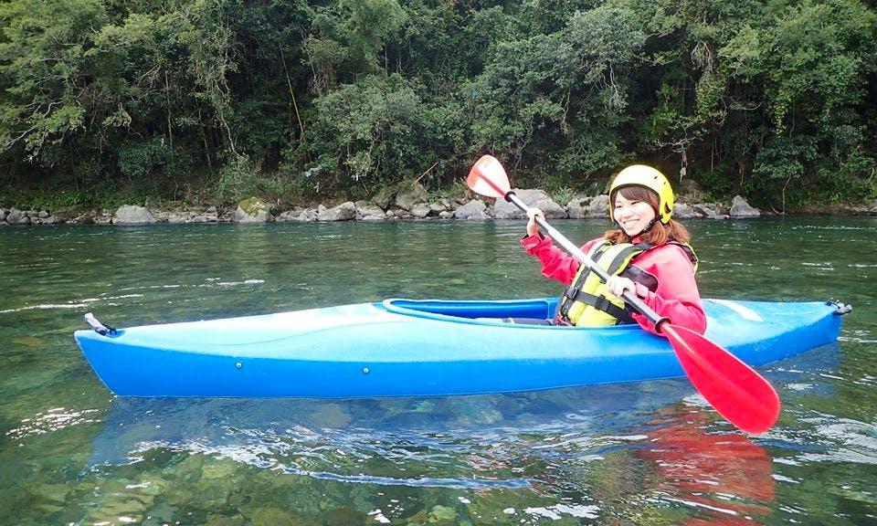 Guided Kayaking Tour in Ino-chō, Japan
