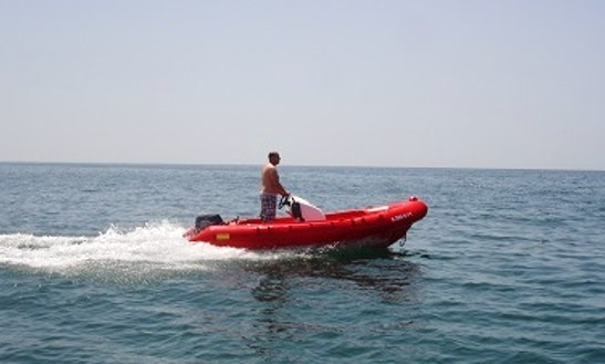 Rib Rental In Matalascanas, Spain