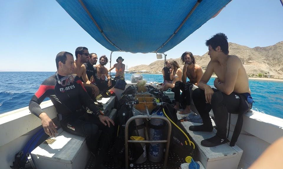 Diving Tours on Red Sea's Gulf of Aqaba, Israel