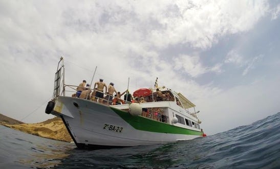Enjoy  Aguilas, Spain On 78' Passenger Boat