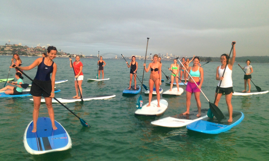 Paddle Board Couples Lesson