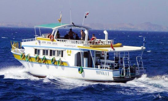 'monika 1' Yacht Diving Trips & Courses In Hurghada
