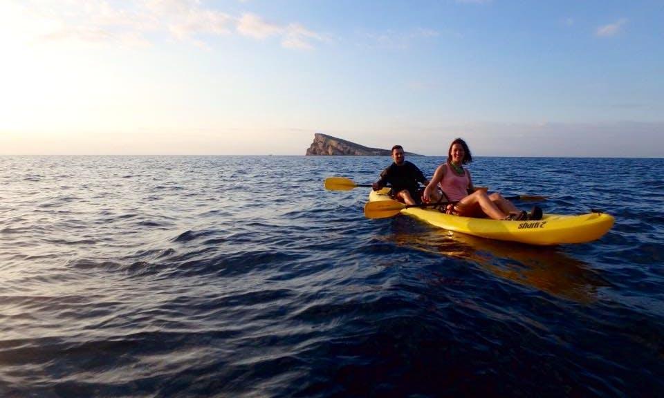 Kayak Excursions In Benidorm