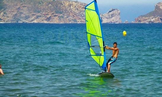 Windsurfing In Torroella De Montgrí