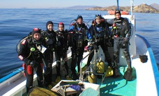 Boat Diving Trips In Aguilas, Spain