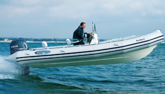 Bombard 640 Rib Charter In Arzon, France