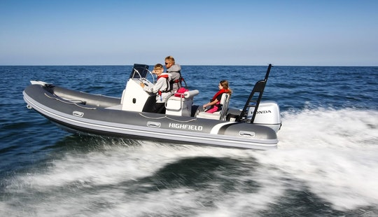 Hightfield Ocean Master 590 Rib Charter In Arzon, France