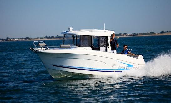 Barracuda 7 Cuddy Cabin Charter In Arzon, France
