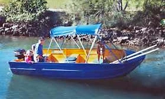 Explore Tweed River On 11' Tiny Boat