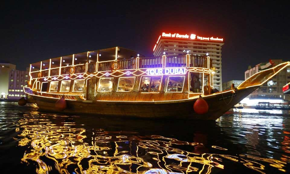 115' Tour Dubai Dhow Luxury Cruises in Dubai