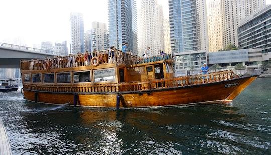 75' Al Kirsh Dhow Luxury Cruises In Dubai