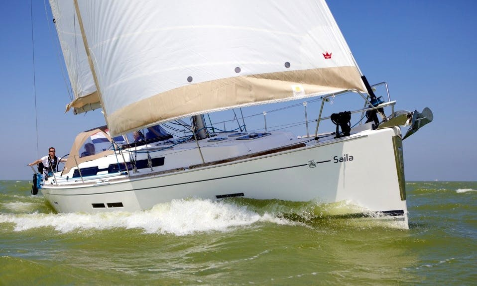 39' Sailing Yacht in Ede