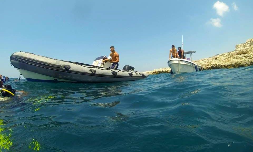 Experience a Trial Scuba diving session In Lebanon, Lebanon