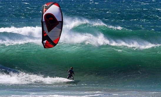 Kitesurfing In Can Pastilla
