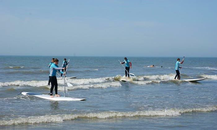 Stand Up Paddle Surfing Lesson In Katwijk