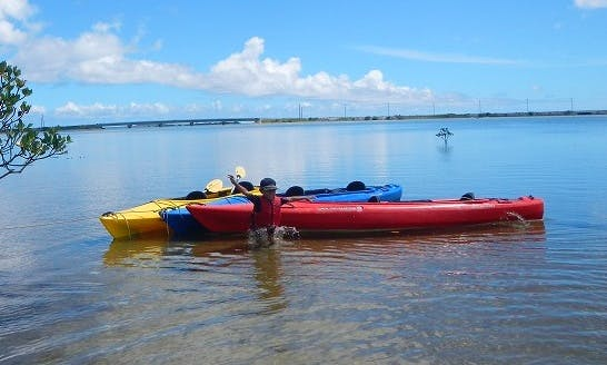 Enjoy Sea Kayaking Tour in West end of Iriomote Island in Japan