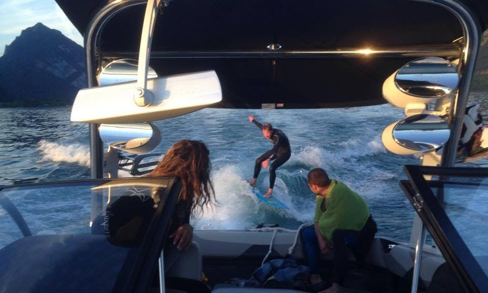 Malibu Boat Wakeboard  & Waterski Trips in Unterseen