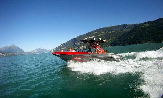 Malibu Boat Wakeboard  & Waterski Trips In Unterseen