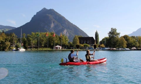 Kayaking Rental in Unterseen